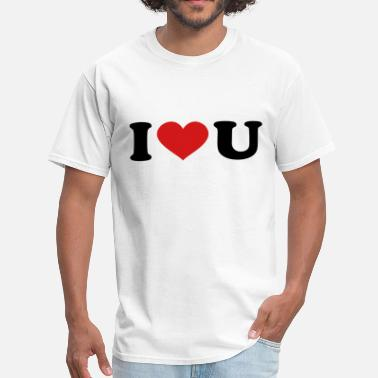 U I Love U - Men's T-Shirt