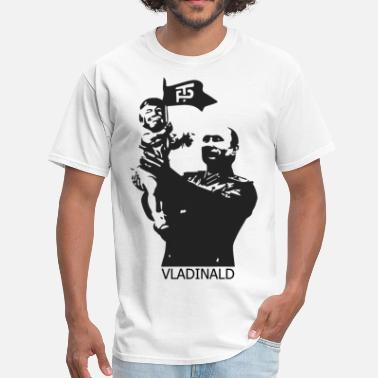 Trump Kissing Putin Vladinald - Putin Trump - Men's T-Shirt