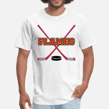 Calgary Flames Flames - Men's T-Shirt