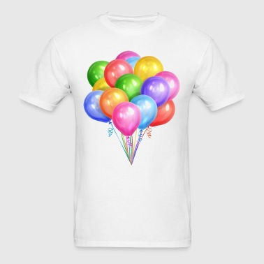 Multicolored-balloons-2 - Men's T-Shirt