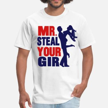 Mr Beast mr. steal your girl - Men's T-Shirt