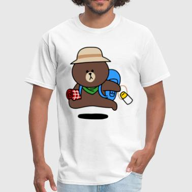 Cute & Funny Cartoon 506 - Men's T-Shirt
