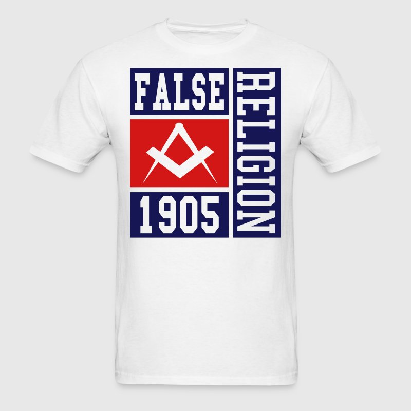 false religion - Men's T-Shirt