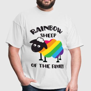 Rainbow Sheep Of The Family LGBT Pride - Men's T-Shirt