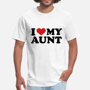 I Love Aunt I Love My Aunt - Men's T-Shirt