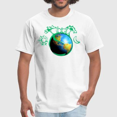 Planet Earth planet - Men's T-Shirt