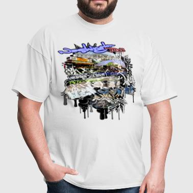 GRAFFITI SITES OF DC - Men's T-Shirt