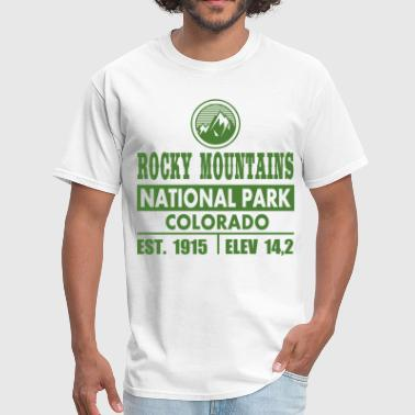 Estes Park Colorado RM2.png - Men's T-Shirt