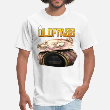 Global Player Olofpass w/ monster - Men's T-Shirt