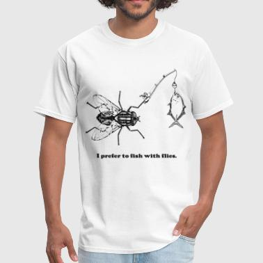 Fly Fishing - Men's T-Shirt