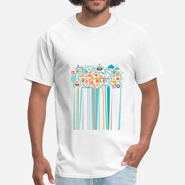 Color Drip Color Drip by TeeSnaps - Men's T-Shirt