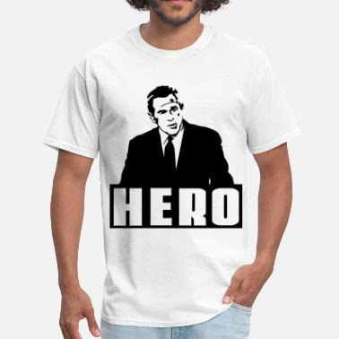 Anti Bush hero bush - Men's T-Shirt
