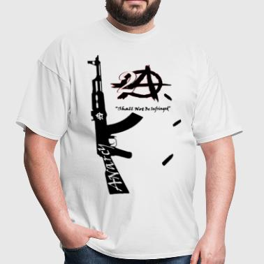 2A Anarchy AK47 American Apparel  - Men's T-Shirt