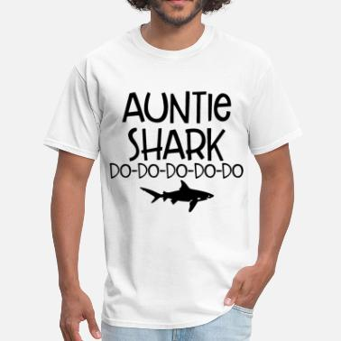 Shark Clothes auntie shark do shark - Men's T-Shirt