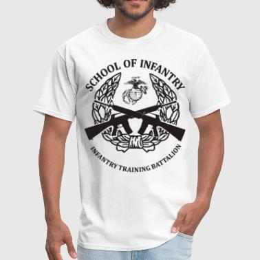 United States Marine Corps United States Marine Corps School Of Infantry Cam - Men's T-Shirt