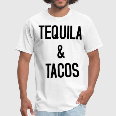 Tops Tequila Tequila and Tacos Tank Racerback Tank Top Tequila - Men's T-Shirt