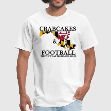 Wedding Crashers Crabcakes & Football - Men's T-Shirt