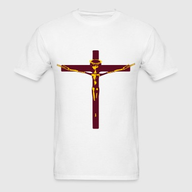 was jesus christ an alien? - Men's T-Shirt