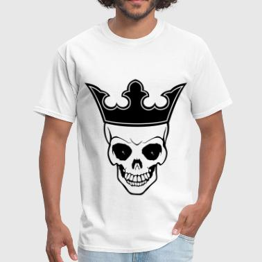 Crowned Skull Skull Crown - Men's T-Shirt