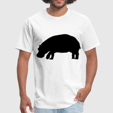 Hippopotamus - Men's T-Shirt