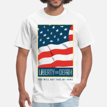 Death State Liberty or Death - Men's T-Shirt