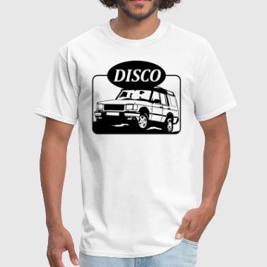 Land Land Rover Discovery illustration - Men's T-Shirt