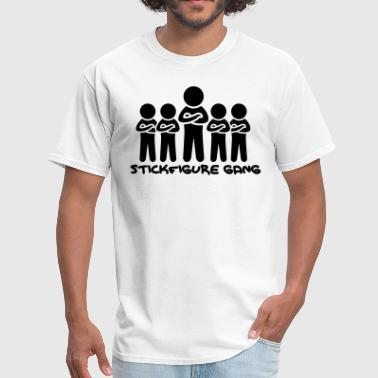 Stickfigure Quotes Stickfigure Gang - Men's T-Shirt
