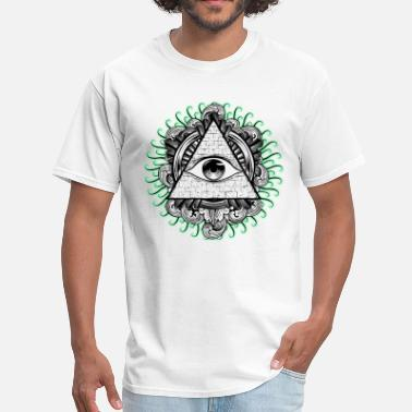 Spreadshirtlikes All Seeing Eye - Men's T-Shirt