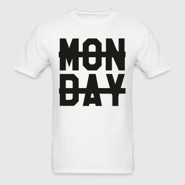Monday -  - Men's T-Shirt