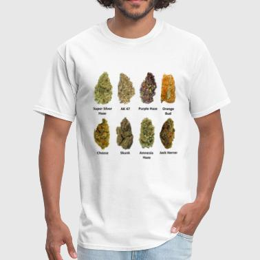Cannabis Buds - Men's T-Shirt