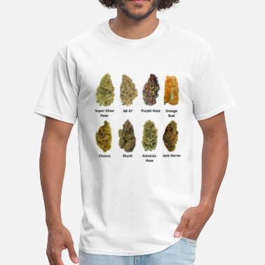 Smoking Cannabis Buds - Men's T-Shirt