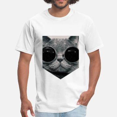 Fashion HIPSTER CAT - Men's T-Shirt