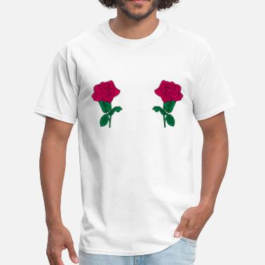 Smooth Flex Print Graphics Rose_flowers_rs12 - Men's T-Shirt