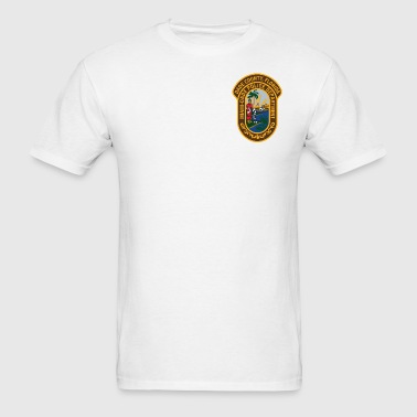 Miami-Dade Police Patch - Men's T-Shirt