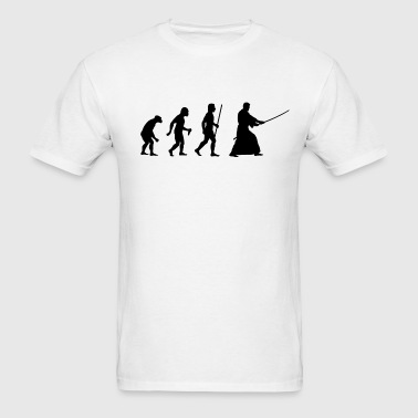 Evolution of Kendo - Men's T-Shirt