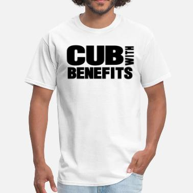 Fuck Cubs CUB WITH BENEFITS - Men's T-Shirt