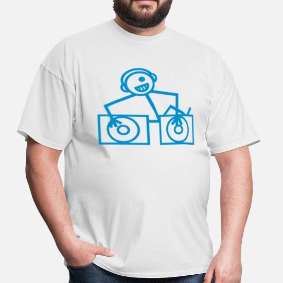 DJ Club dance rave music Men's T-Shirt | Spreadshirt