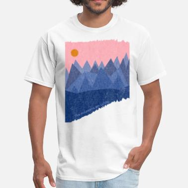 Nature Collection The mountains are calling - Men's T-Shirt