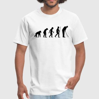 Golf Evolution Evolution of a Golfer - Men's T-Shirt
