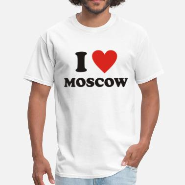 I Love Moscow I love Moscow - Men's T-Shirt