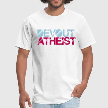 Atheist Christmas devout atheist - Men's T-Shirt