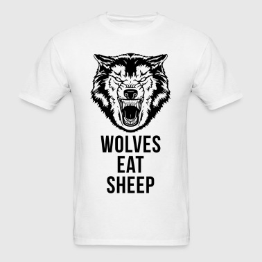 Wolf - Wolves Eat Sheep - Men's T-Shirt