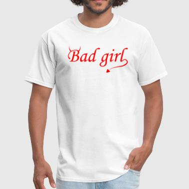 Devilish Girl Bad Girl - Men's T-Shirt