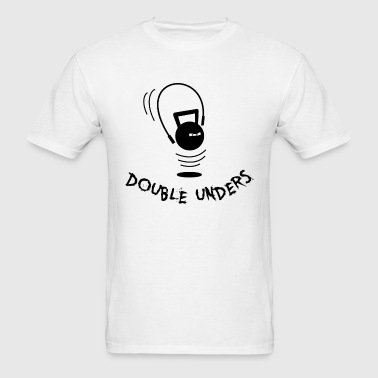 Angry Kettlebell Double Unders - Men's T-Shirt