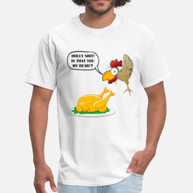 Chicken Pussy chicken - Men's T-Shirt