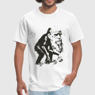 Charles Darwin Ape Evolution - Men's T-Shirt