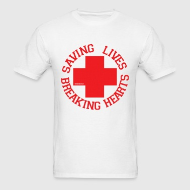 Breaking Hearts - Men's T-Shirt