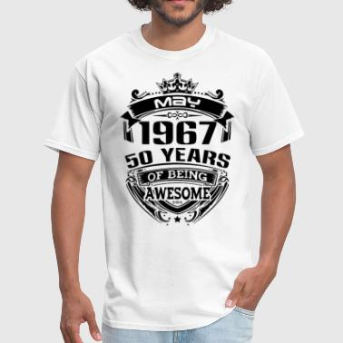 may 1967 50 years - Men's T-Shirt
