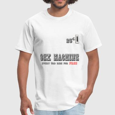sexmachine - Men's T-Shirt