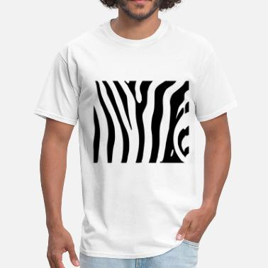 Zebra White Zebra - Men's T-Shirt